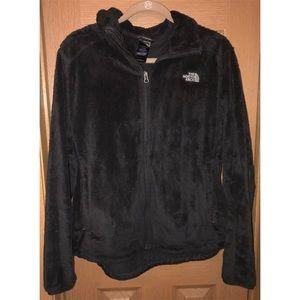 north face jacket - black